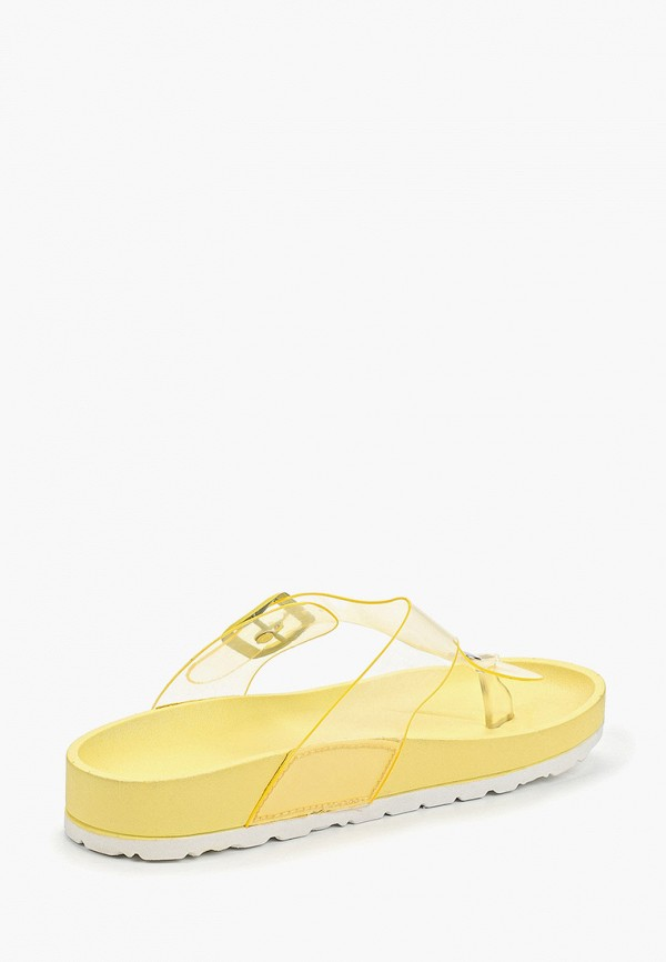 Фото 3 - Сланцы Sweet Shoes желтого цвета