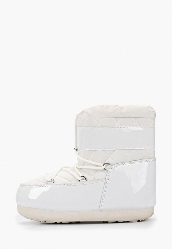 женские луноходы sweet shoes, белые