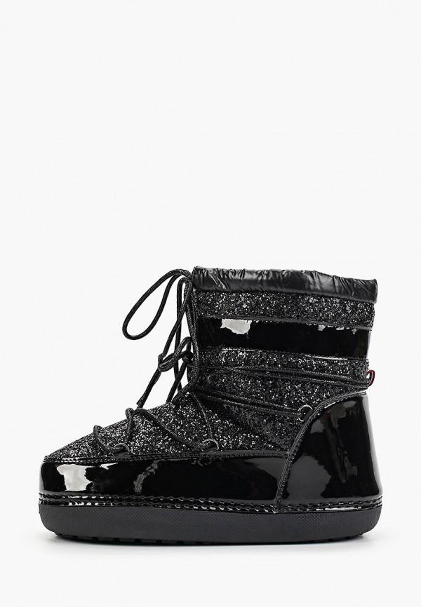 женские луноходы sweet shoes, черные