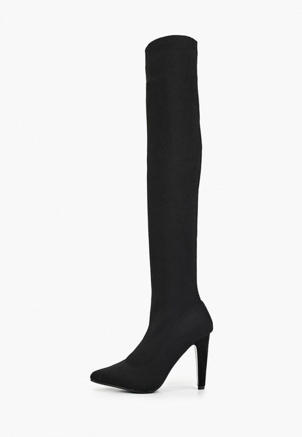 женские ботфорты sweet shoes, черные
