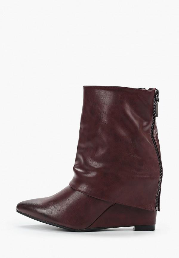 женские полусапожки sweet shoes, бордовые