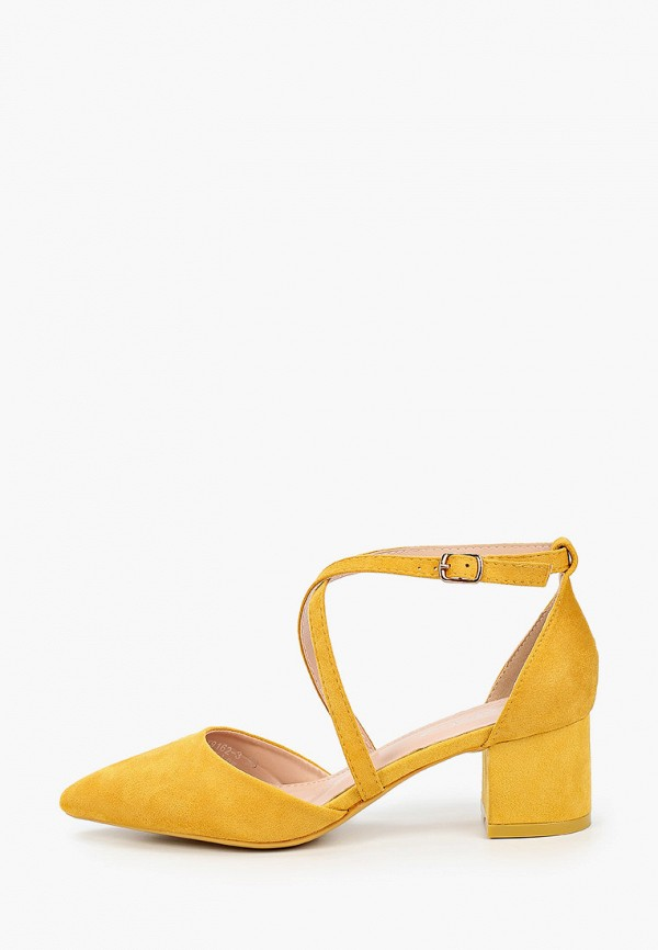 женские туфли sweet shoes, желтые