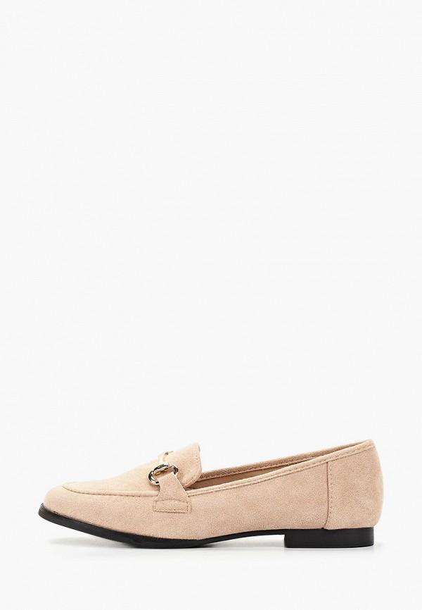 женские лоферы sweet shoes, розовые