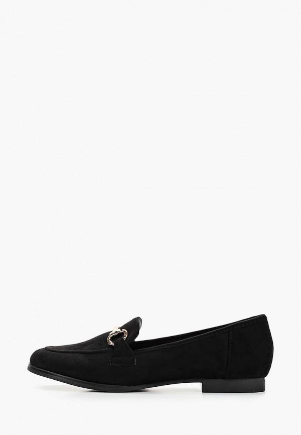 женские лоферы sweet shoes, черные