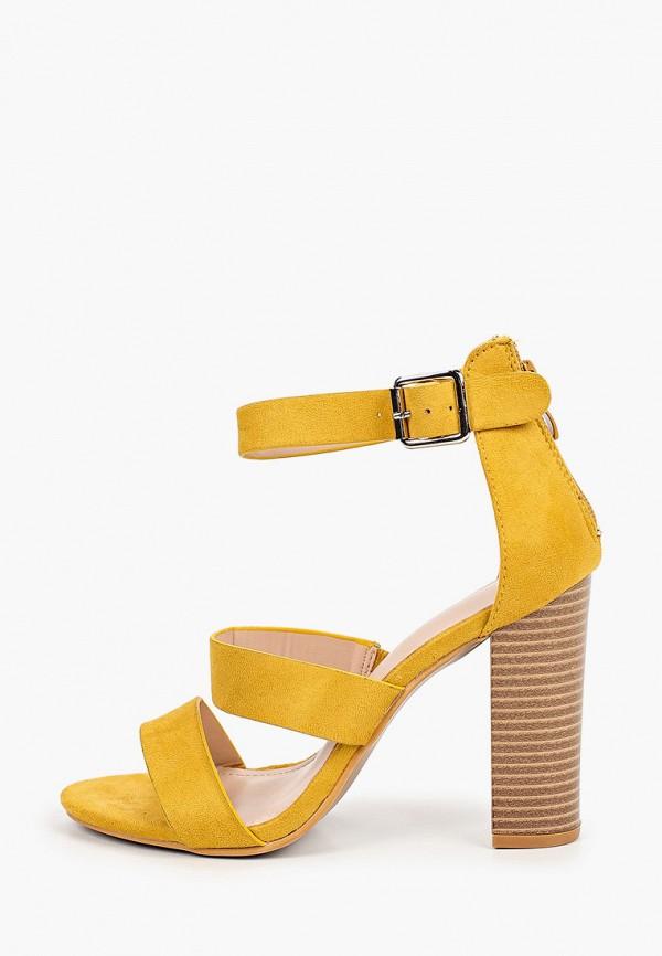 женские босоножки sweet shoes, желтые