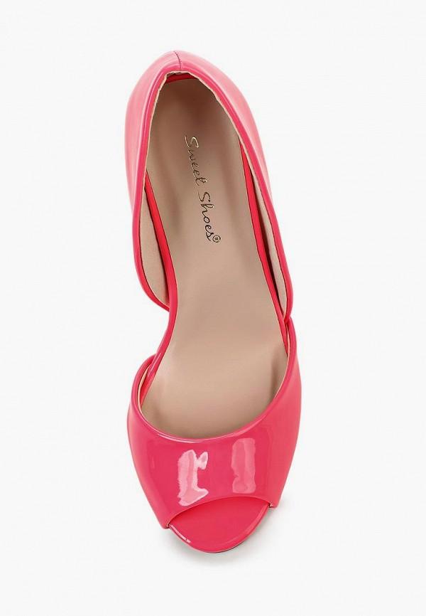 Фото 12 - женские туфли Sweet Shoes розового цвета