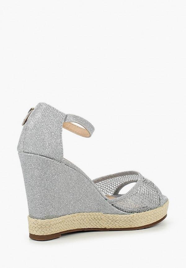 Фото 10 - женские босоножки Sweet Shoes серебрянного цвета