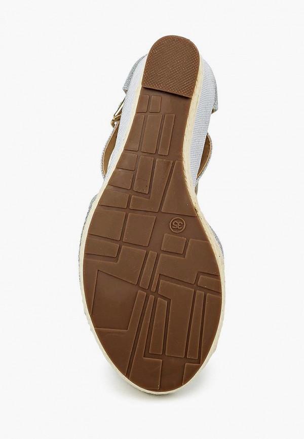 Фото 11 - женские босоножки Sweet Shoes серебрянного цвета