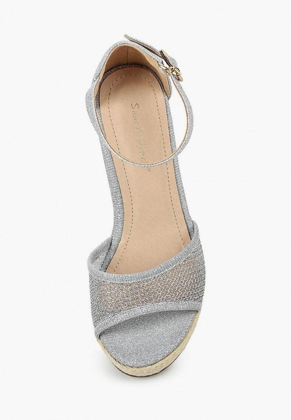 Фото 12 - женские босоножки Sweet Shoes серебрянного цвета