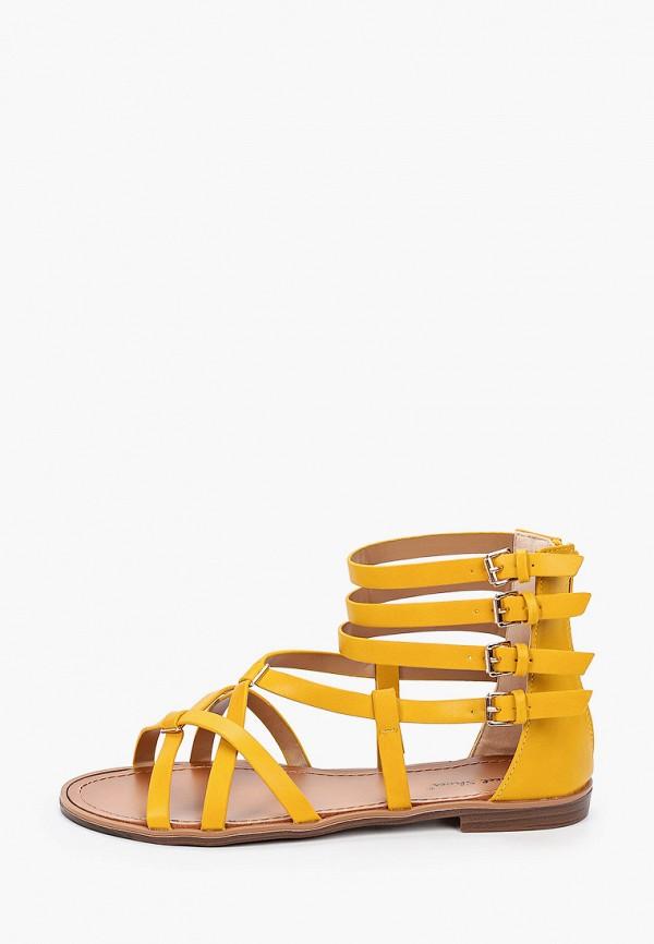 женские сандалии sweet shoes, желтые