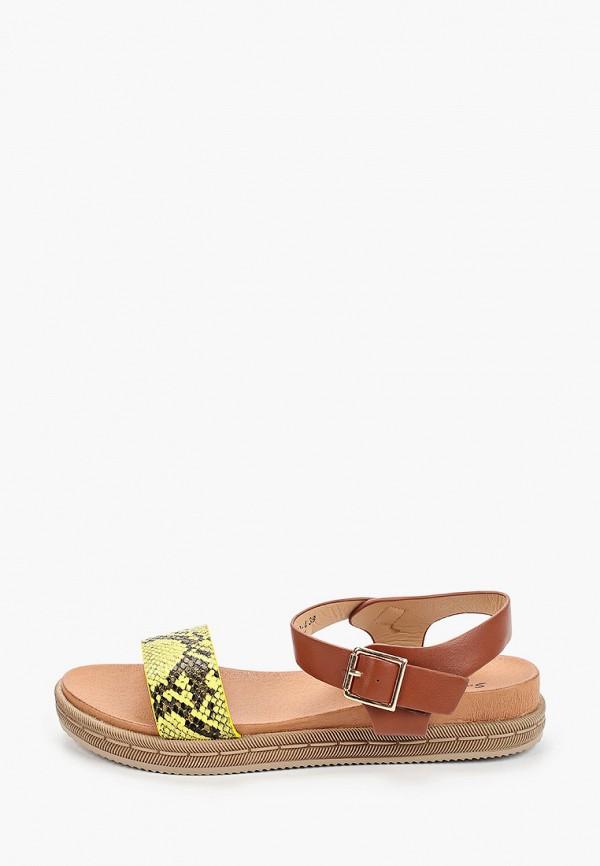 женские сандалии sweet shoes, коричневые