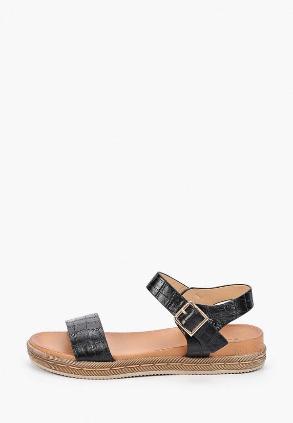 женские сандалии sweet shoes, черные