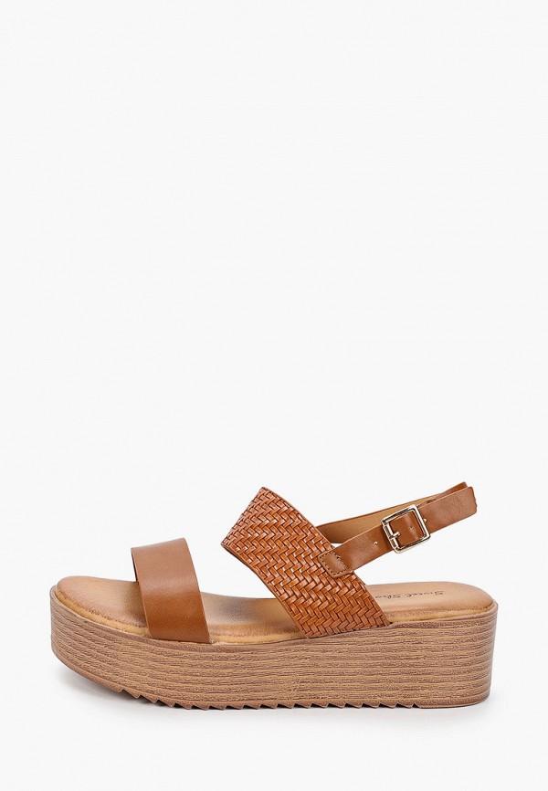 женские босоножки sweet shoes, коричневые