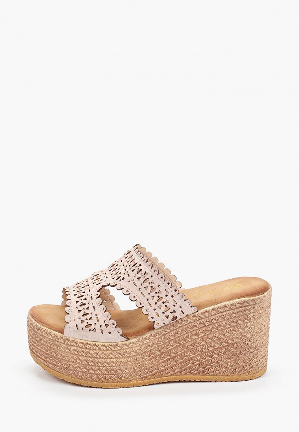 женское сабо sweet shoes, розовое