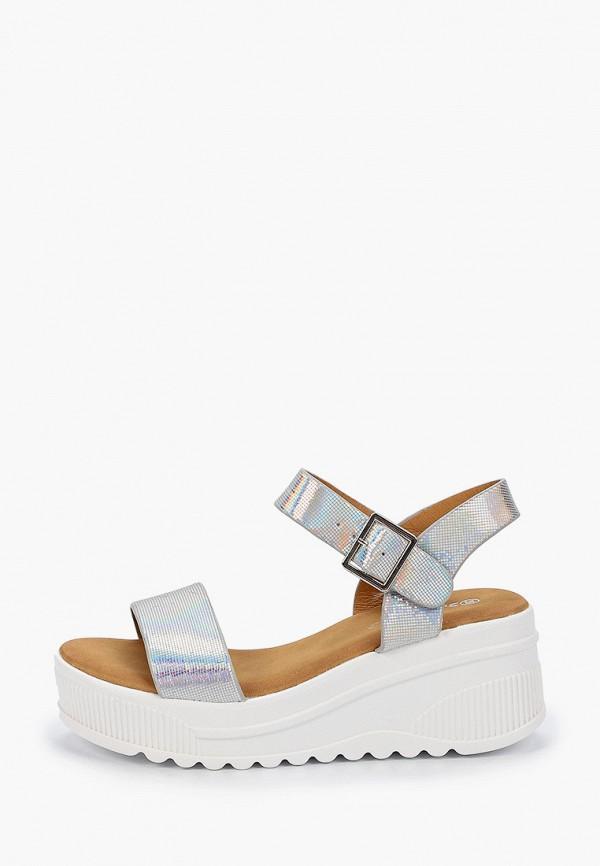 женские босоножки sweet shoes, серебряные