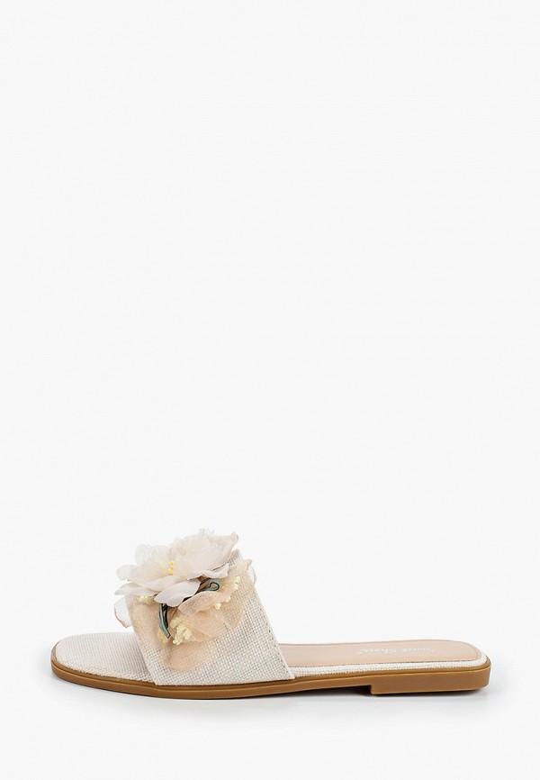 женское сабо sweet shoes, бежевое