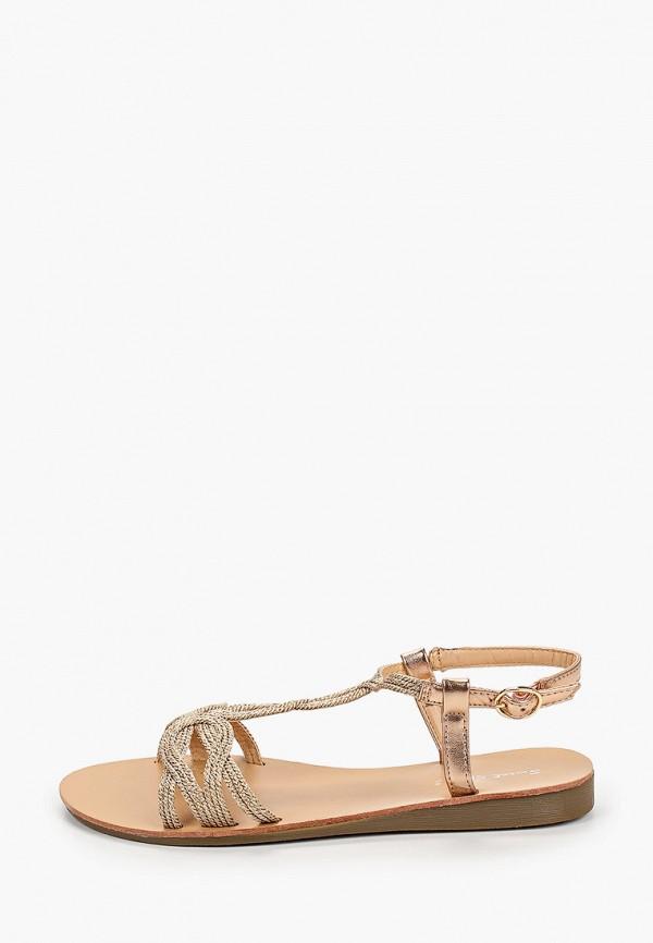женские сандалии sweet shoes, золотые