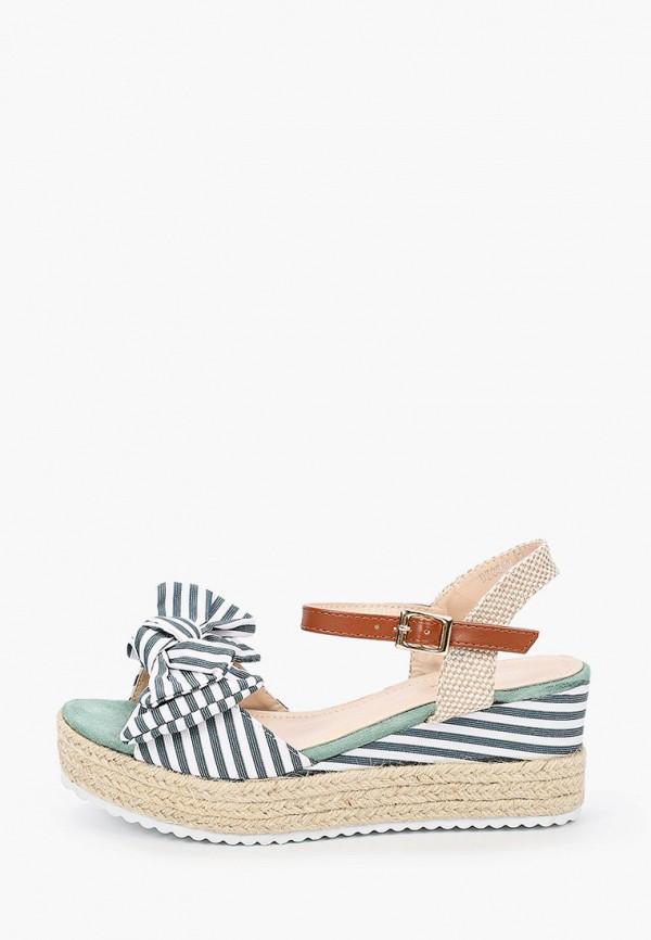 женские босоножки sweet shoes, зеленые