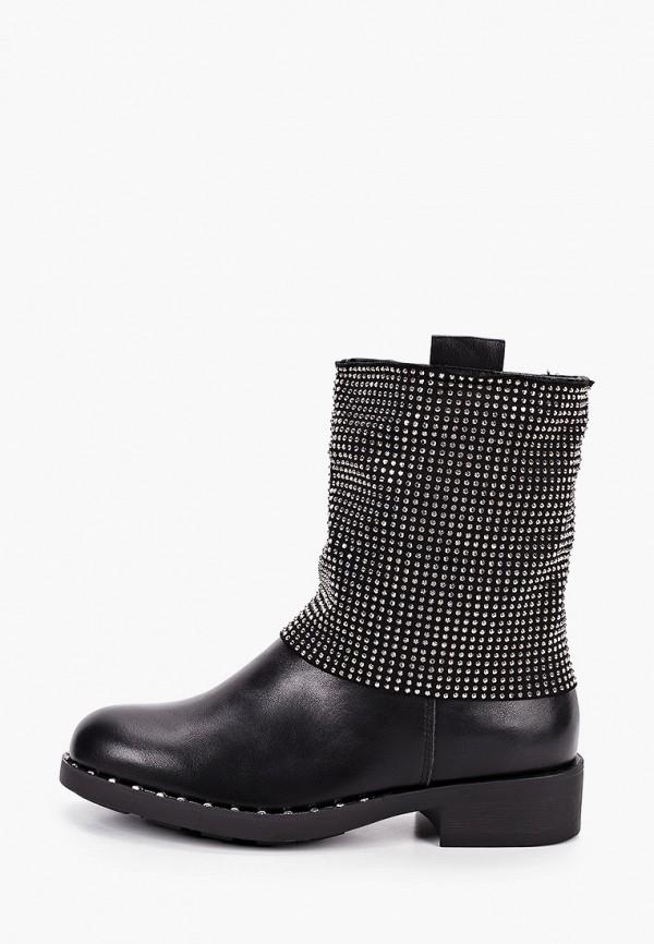 женские полусапожки sweet shoes, черные