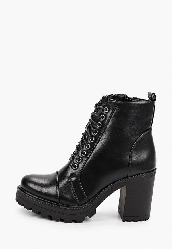 женские ботильоны sweet shoes, черные