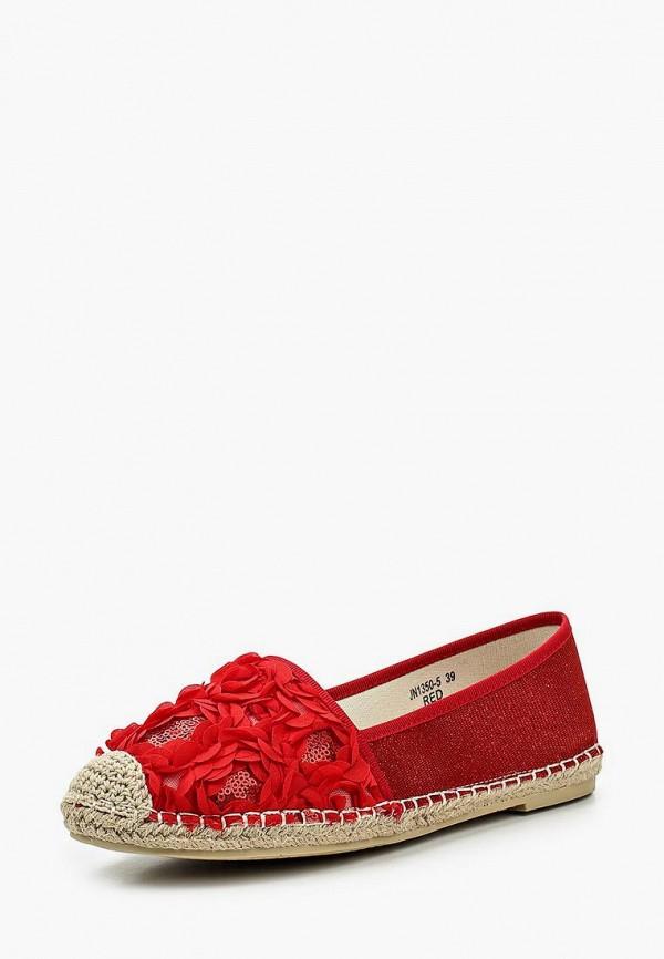 Купить Эспадрильи Sweet Shoes, sw010awrwm36, красный, Весна-лето 2017