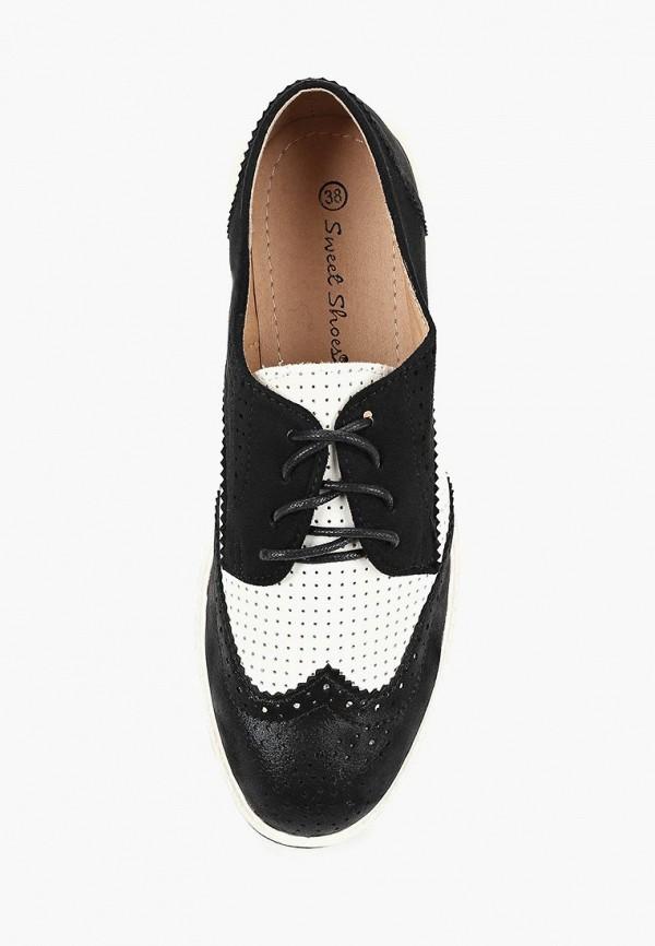 Фото 4 - женские ботинки и полуботинки Sweet Shoes черного цвета