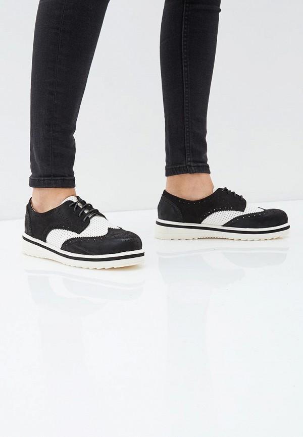 Фото 5 - женские ботинки и полуботинки Sweet Shoes черного цвета