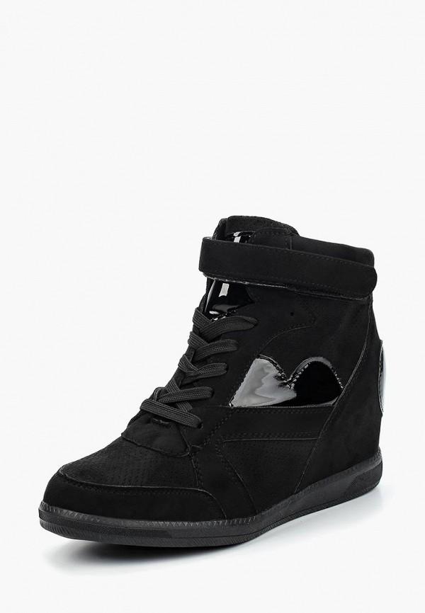 Фото - Кеды на танкетке Sweet Shoes черного цвета