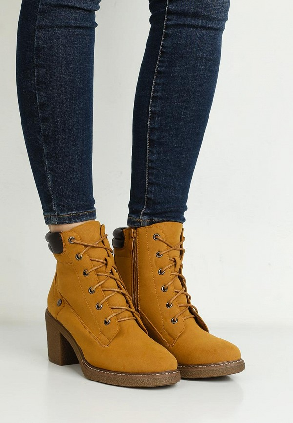 Фото 10 - женские ботильоны Sweet Shoes коричневого цвета