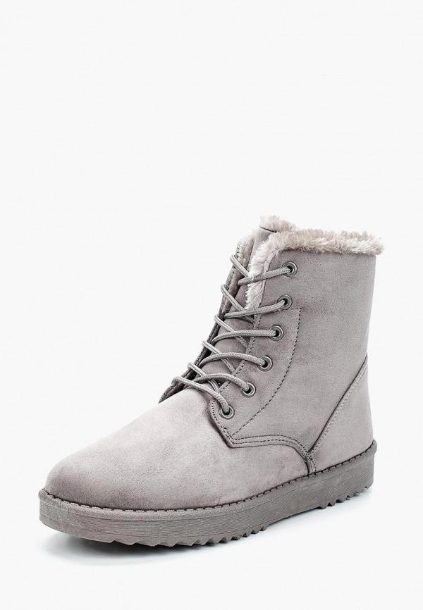 Фото - женские ботинки и полуботинки Sweet Shoes серого цвета