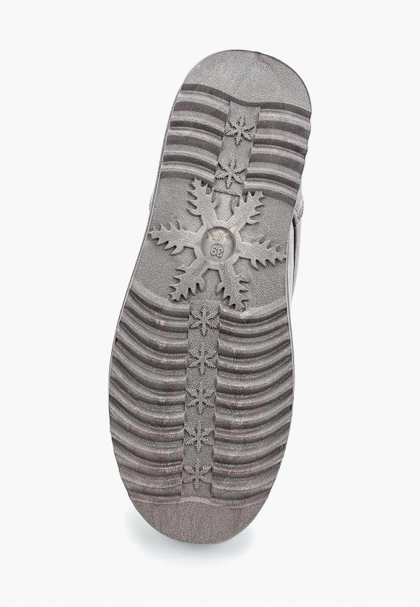 Фото 3 - женские ботинки и полуботинки Sweet Shoes серого цвета