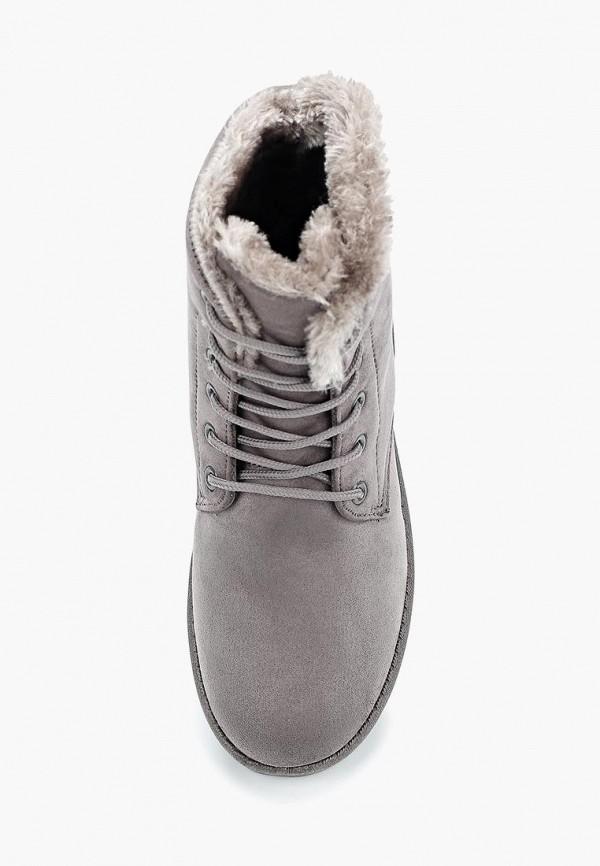 Фото 4 - женские ботинки и полуботинки Sweet Shoes серого цвета