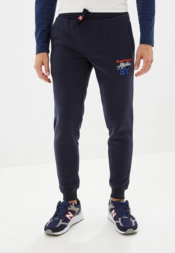 мужские спортивные спортивные брюки sweet years, синие