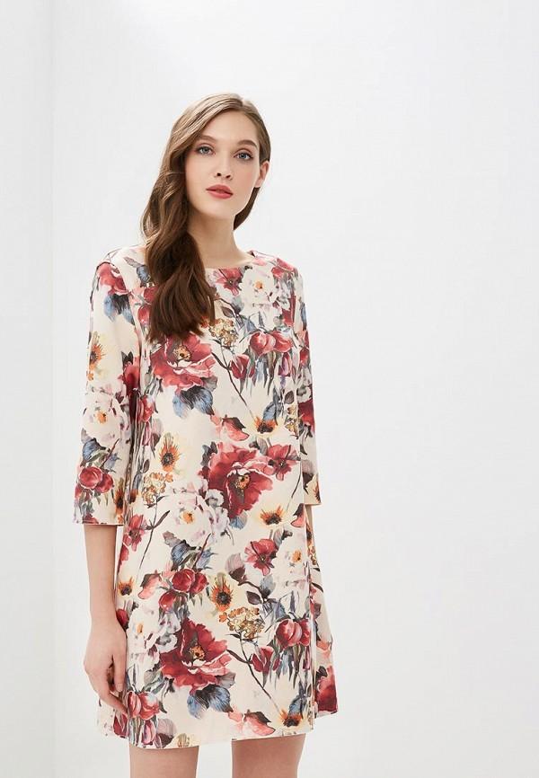 Купить Платье Sweet Miss, sw014ewausu3, бежевый, Весна-лето 2018