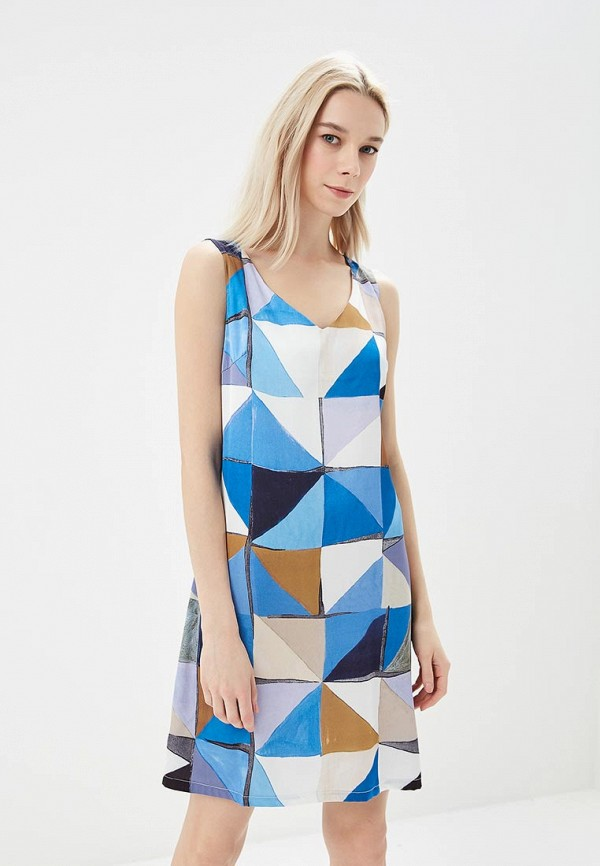 Платье Sweet Miss Sweet Miss SW014EWBFOQ2 sweet ruffle neck fitted solid color knee length dress for women