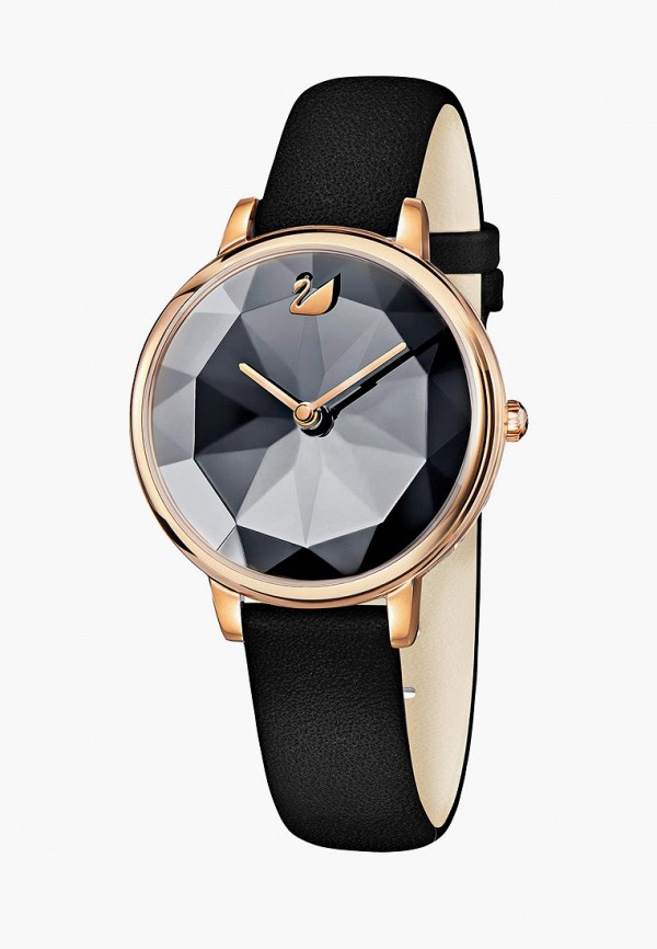 женские часы swarovski®, черные