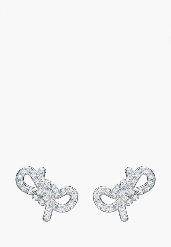 Серьги Swarovski® Swarovski® SW016DWDVPU4 жен в форме листа серьги слезки на заказ массивный европейский серебряный золотой серьги назначение свадьба для вечеринок особые случаи