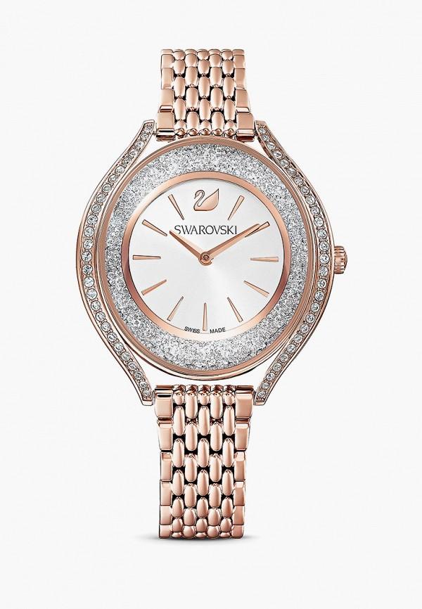 женские часы swarovski®, золотые