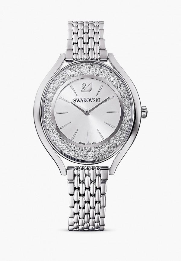 женские часы swarovski®, серебряные
