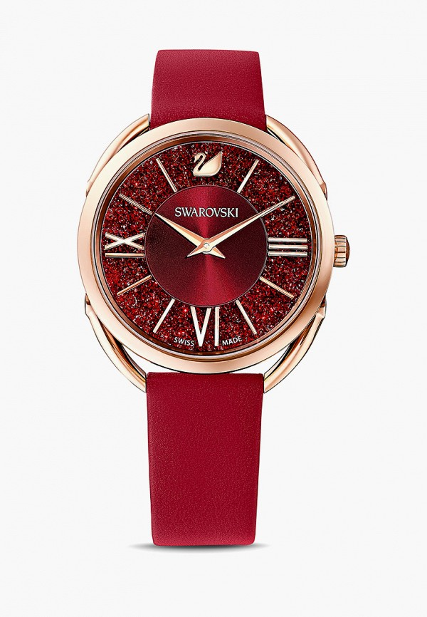 женские часы swarovski®, красные