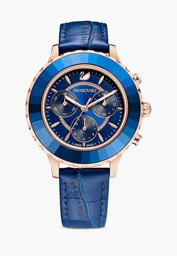 женские часы swarovski®, синие