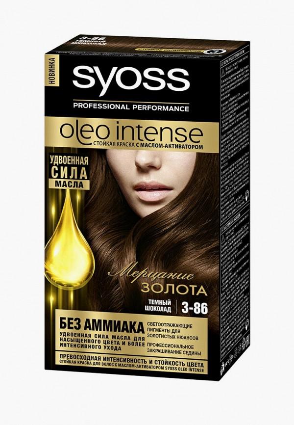 краска для волос syoss, коричневый