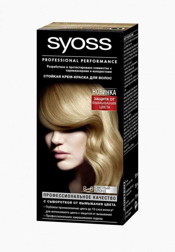 Купить Краска для волос Syoss, Color 8-6 Светлый Блонд, SY001LWCSDL3, бежевый, Осень-зима 2018/2019