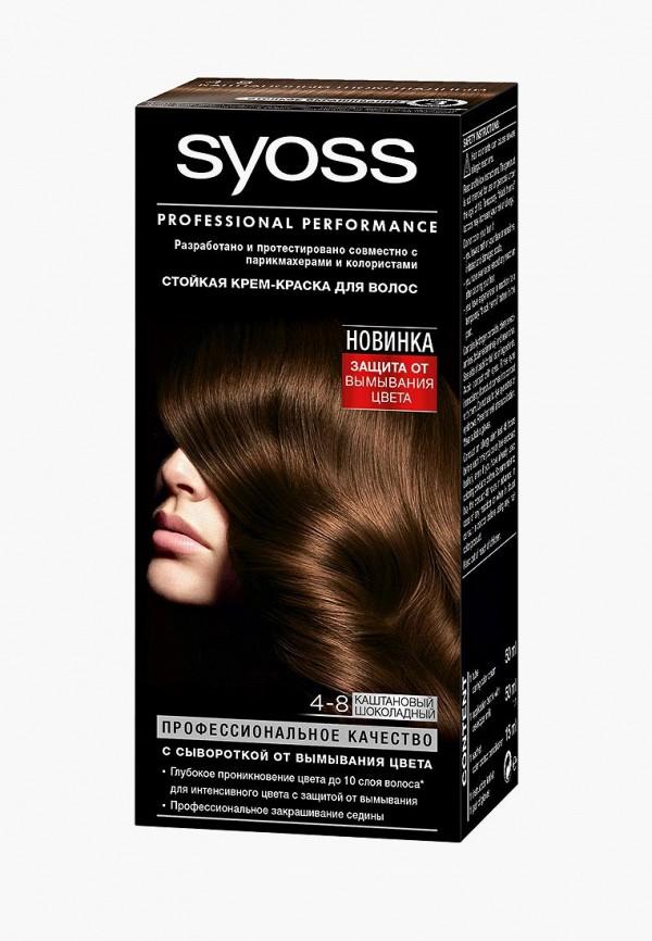 Купить Краска для волос Syoss, Color 4-8 Каштановый шоколадный, 50 мл, sy001lwjoj51, Весна-лето 2019
