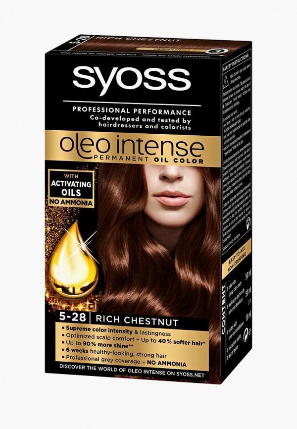 Купить Краска для волос Syoss, Oleo Intense 5-28 Горячий Шоколад, 50 мл, SY001LWJOJ91, Весна-лето 2018