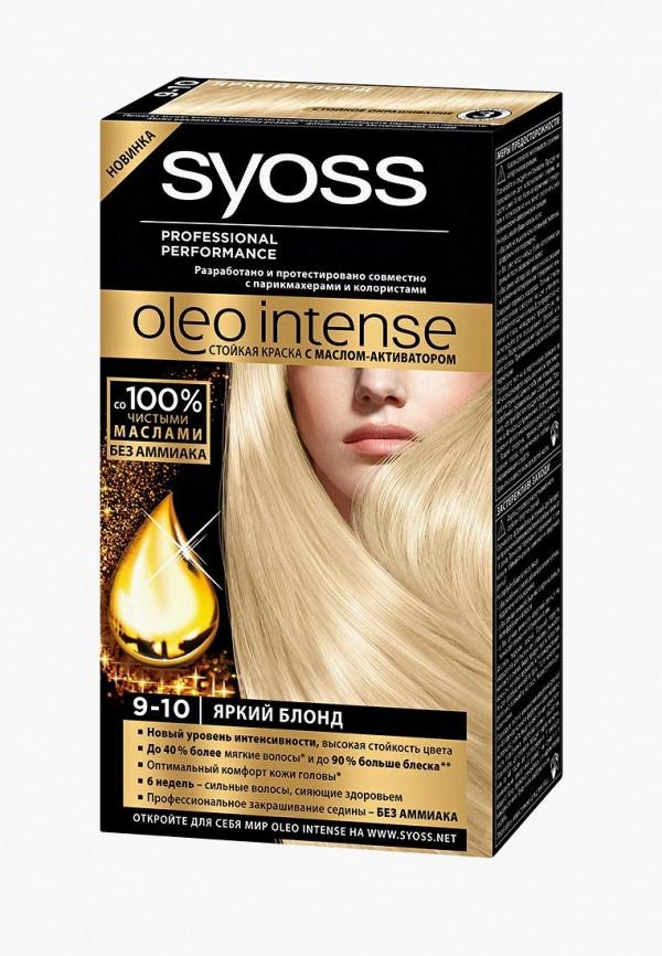 Купить Краска для волос Syoss, Oleo Intense 9-10 Яркий блонд, 50 мл, SY001LWJOJ92, Весна-лето 2018