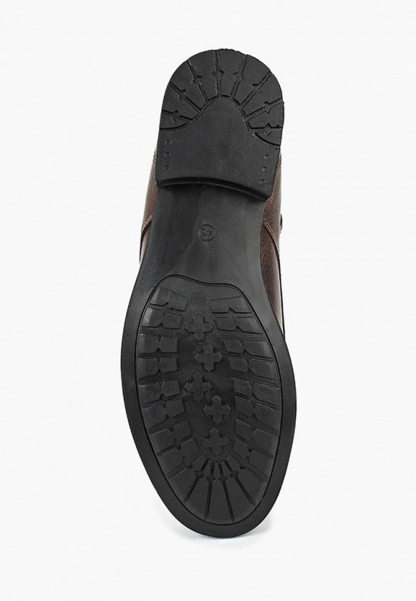 Фото 3 - мужские ботинки и полуботинки Tamboga коричневого цвета
