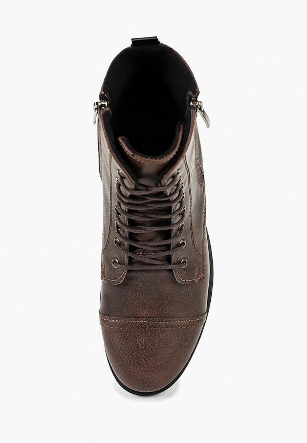Фото 4 - мужские ботинки и полуботинки Tamboga коричневого цвета