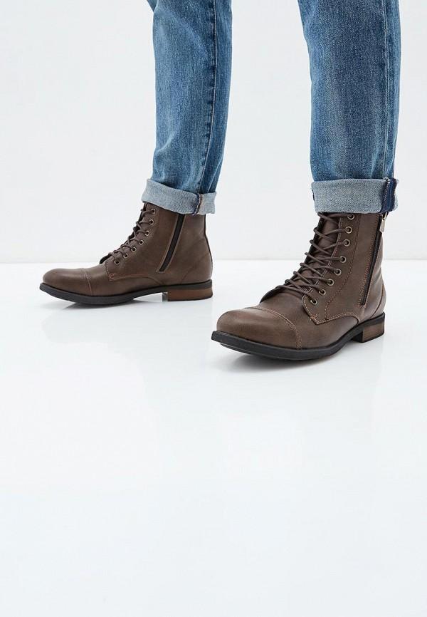 Фото 5 - мужские ботинки и полуботинки Tamboga коричневого цвета