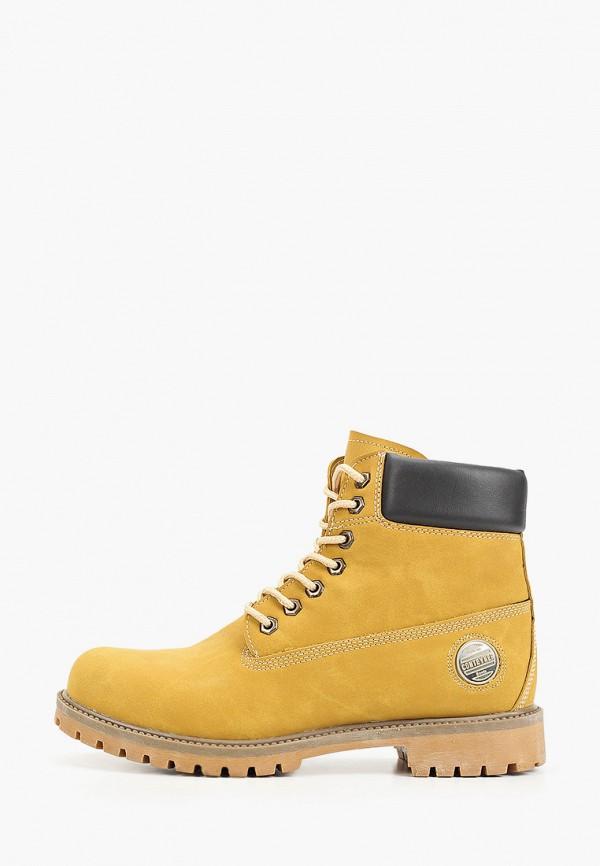 мужские ботинки tamboga, коричневые